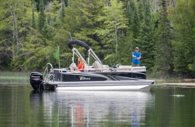 Понтонная лодка Tahoe  Grand Island 2285 LTZ Rear Fish