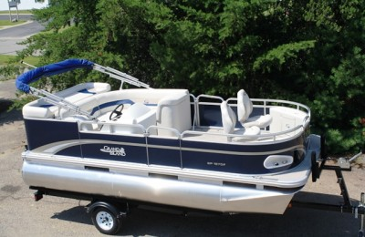 Понтонная лодка Tahoe Grand Island 1670 Full Rear Bench Fish