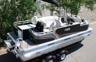Понтонная лодка Tahoe  Grand Island 1870 Sport Quad Fish