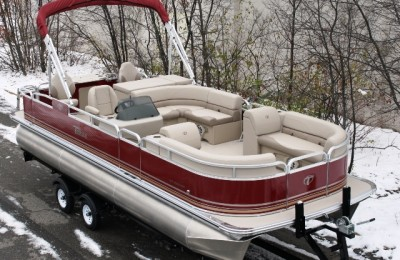 Понтонная лодка Tahoe  Grand Island 2385 GT Rear Fish